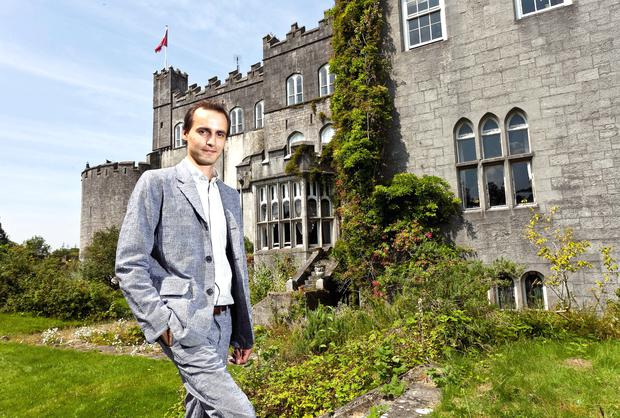 Michael Parsons pictured on the grounds of Birr Castle.