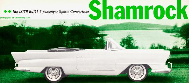 The Shamrock: 'A small car wearing a big American car costume,' according to one US critic
