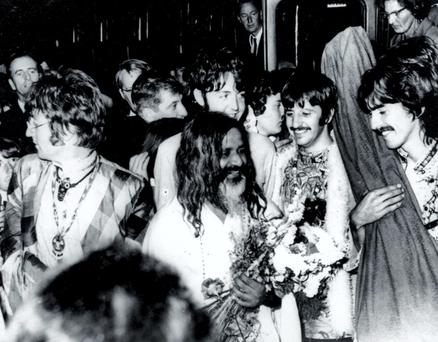 The Beatles were taught meditation by the Maharishi Mahesh Yogi in the 1960s
