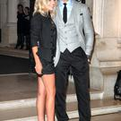 Rekindled romance: Mollie Kinga and David Gandy