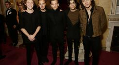 At the Palladium: One Direction attend The Royal Variety Performance at the London Palladium earlier this month. From left, Niall Horan, Liam Payne, Louis Tomlinson, Zayn Malik and Harry Styles. Photo: Yui Mok - WPA Pool/Getty Images.