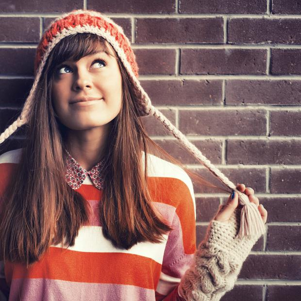 Keep smiling: if parents smile first, teenagers are more likely to emulate them