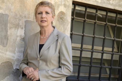 "Mary McAleese, who said she had been ""literally a refugee on my own island"", noted that the public is keen to talk about people, not numbers, when it comes to dealing with the crisis"