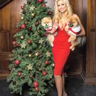 Rosanna Davison, model and nutritionist, with her dogs, Ted and Leo