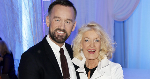 Brendan Courtney has described his mother Nuala as his best friend and the two are famously tight knit. She is a trained psychotherapist who specialises in grief counselling.
