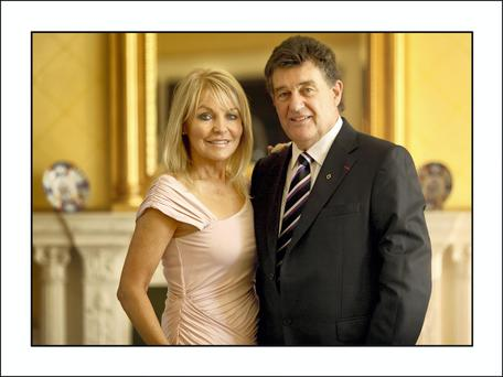 Great news for Jackie Lavin, pictured with Bill Cullen