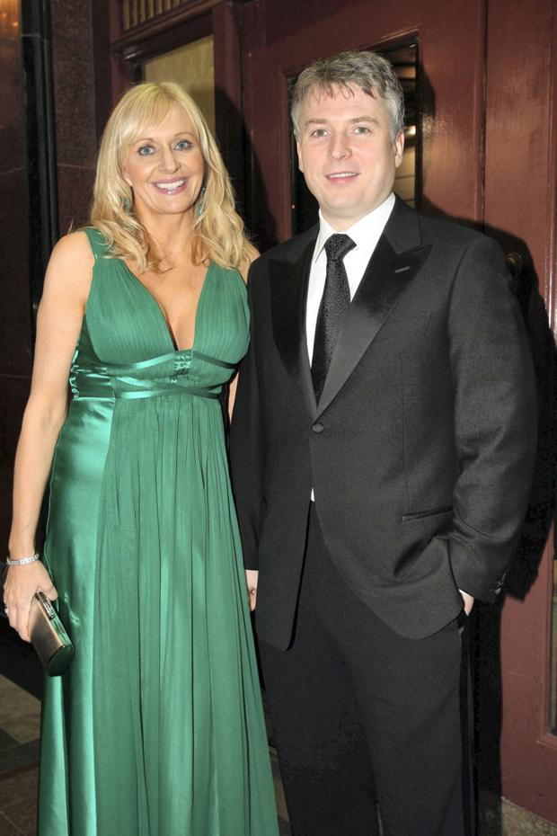 Miriam O'Callaghan and Steve Carson