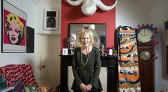 Author: Rosita Sweetman at her home in Rathmines.