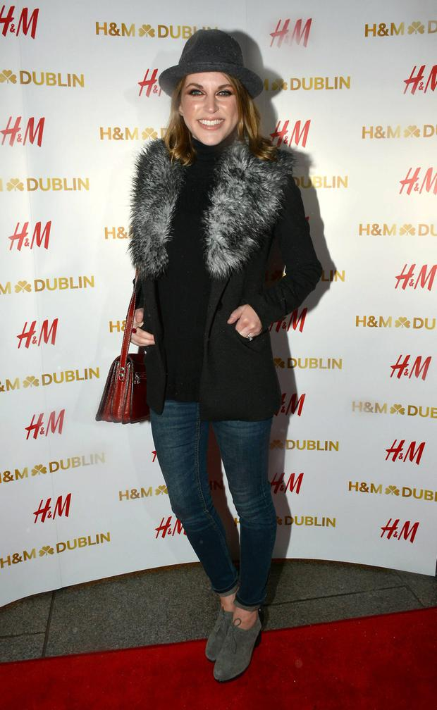 Amy Huberman.
