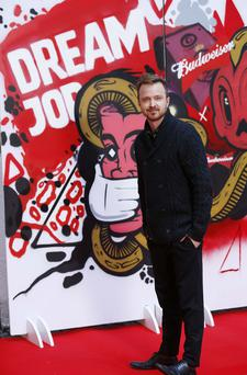 Aaron Paul is the ambassador for this year's Budweiser Dream Job