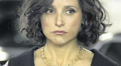 Julia Louis-Dreyfus as Veep's Selina Meyer