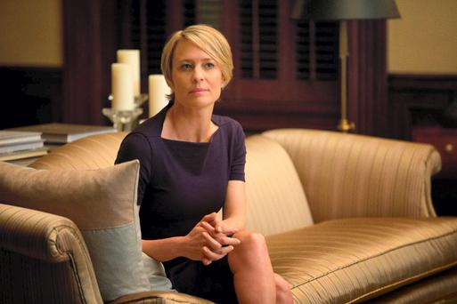 Robin Wright as Claire Underwood in 'House of Cards'