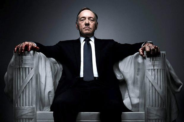Kevin Spacey as Frank Underwood in 'House of Cards'