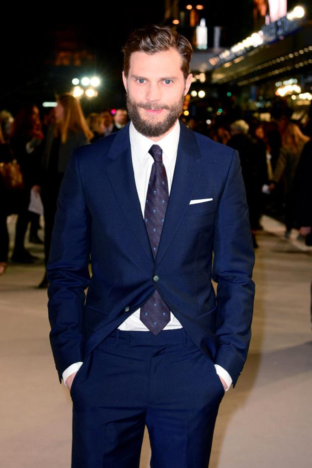 Star power: Jamie Dornan was in 37