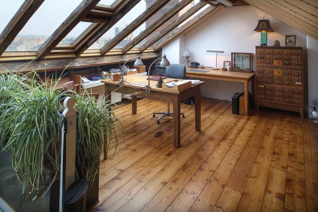 Paul Greeg's home office