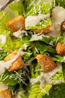 Caesar salad. Deposit Photos