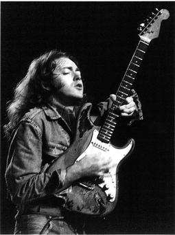Musician Rory Gallagher