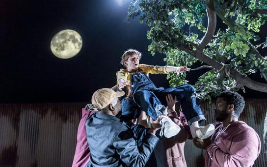Enduring appeal: Fans of To Kill a Mockingbird will not be disappointed as the stage version incorporates the original text at every opportunity