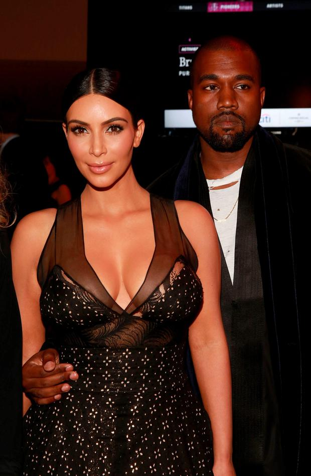 Kim and Kanye didn't see the funny side when Amy Schumer threw herself at their feet