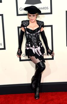 Express yourself (or maybe not): Madonna doesn't take too kindly to suggestions about her art