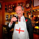 Admiration: UKIP leader Nigel Farage comes across as a man of the people