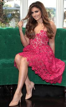 On to the next one: Model-turned-singer Nadia Forde is the subject of her own 3e reality show