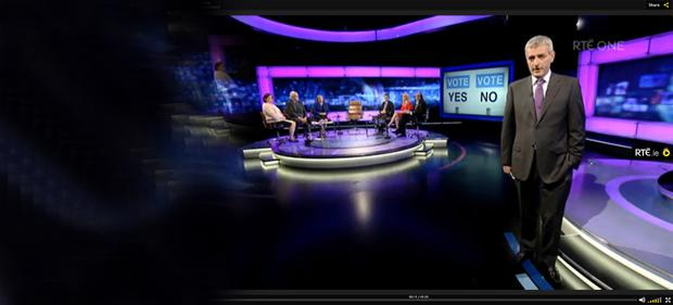 RTE Prime Time debate on marriage referendum