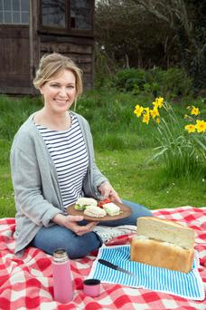 Rachel Allen: 'The key to a good picnic is to be prepared'. Photo: Tony Gavin