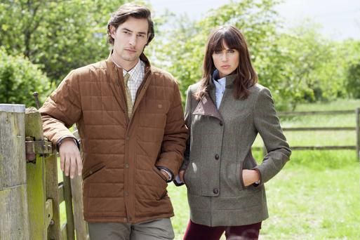 Irish Independent Weekend Magazine's Best Dressed Couple Award in association with Dubarry of Ireland.