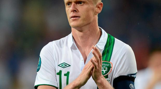 Damien Duff is poised to sign for Shamrock Rovers