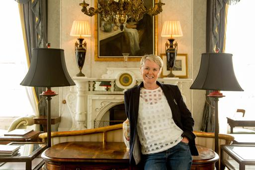 Co-owner of Lissadell House, Constance Cassidy. Photo: James Connolly.