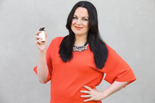 Triona McCarthy with Olay Total Effects 7-in-1 Anti-Ageing Day Moisturiser with SPF. Photo: Tony Gavin.