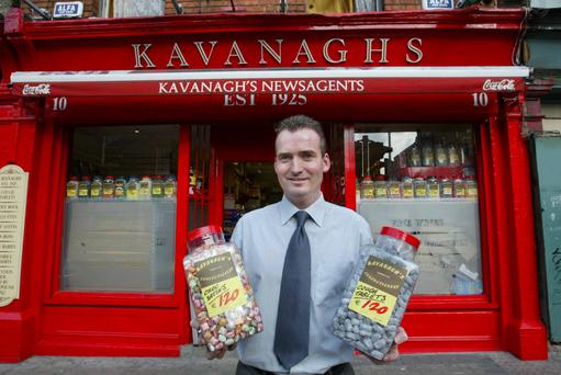 The candy man can: Eddie Kavanagh runs the sweetshop his parents opened in 1925