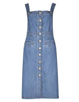 Denim pinafore from Marks & Spencer