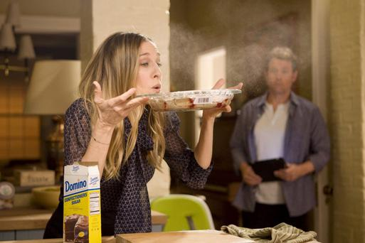 Sarah Jessica Parker stars as Kate Reddy in 'I Don't Know How She Does It' , a busy working mother-of-two who is the main breadwinner in the house