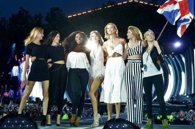 Taylor Swift invites friends to the stage at her Hyde Park gig