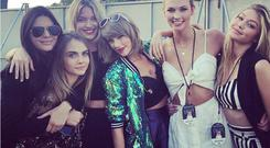 That's what friends are for: Taylor Swift and friends at her Hyde Park gig