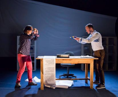 From fling to thing: Sonya Kelly in How to Keep an Alien, a tale of love and red-tape