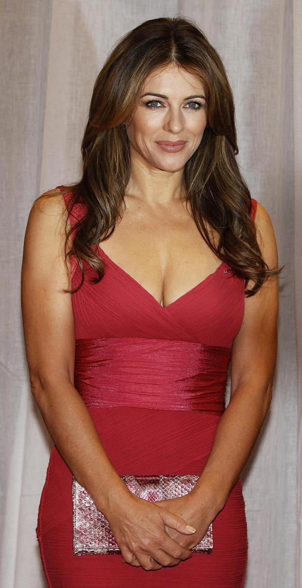 Hugh Grant's close friend and ex-partner Liz Hurley