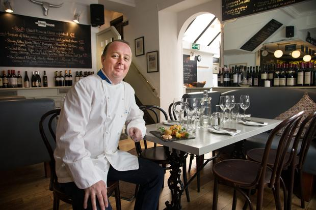 Kevin Arundel, chef and owner of The Chop House on Shelbourne Road