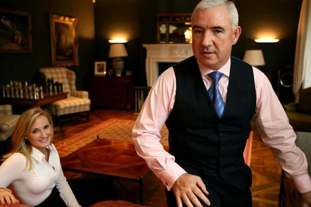 Boomtime developer Sean Dunne with wife Gayle Killilea