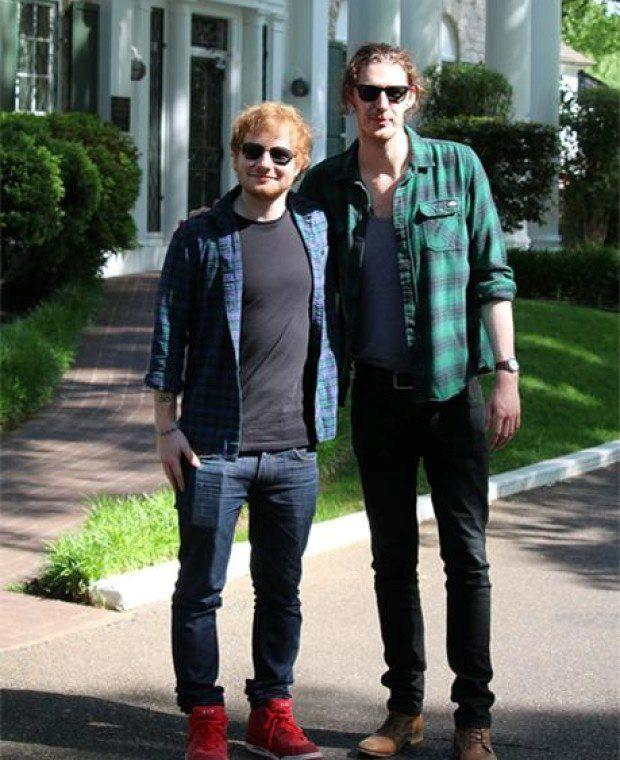 Ed Sheeran and Hozier