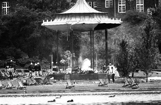 We did have to listen to people telling us that they were 'ashamed to be Irish' following every atrocity - London's Regents's Park following an IRA bomb blast, which killed seven people in 1982