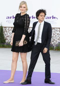 Opposites attract: Height difference isn't a problem between Sophie Dahl and her husband Jamie Cullum. Photo: Chris Jackson