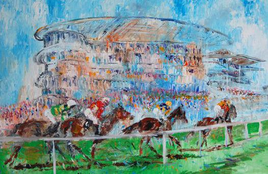 Galway Races by Marley Irish