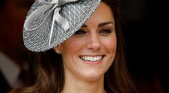 Duchess of Cambridge: Kate Middleton displays her hair to the throne