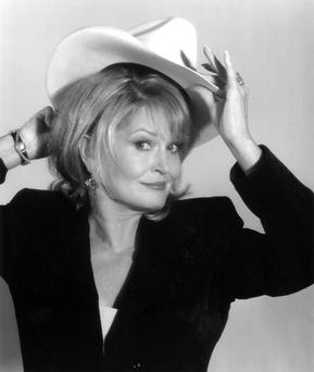 In her blood: Both Lynn Anderson's parents were both song writers for country stars