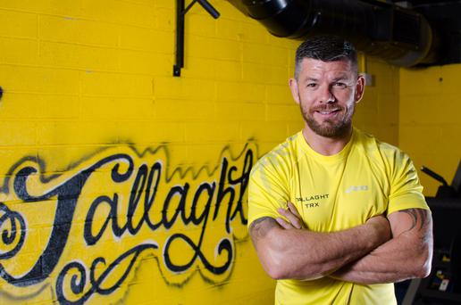 Darren Dillon at his Kickstart gym in Tallaght