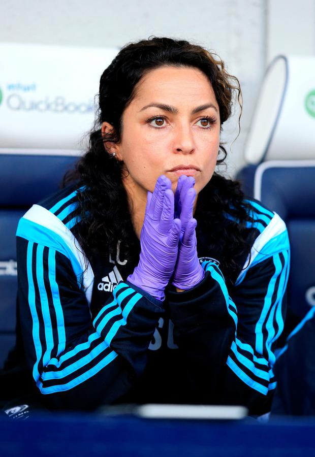 Pitch: doctor: Eva Carneiro took to social media to thank the public for their support following a very public dressing down from Jose Mourinho. Photo: Mike Egerton/PA Wire.