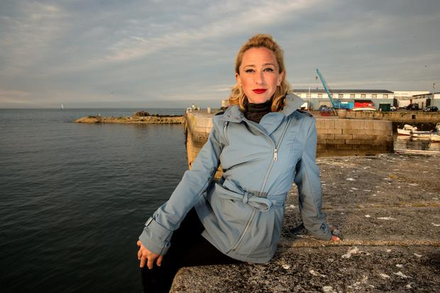 Sex worker Kate McGrew is calling for a decriminalisation of the industry in Ireland. Photo: Arthur Carron.